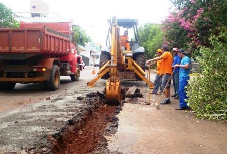 Prefeitura inicia o ano de 2014 com obras em Catuípe