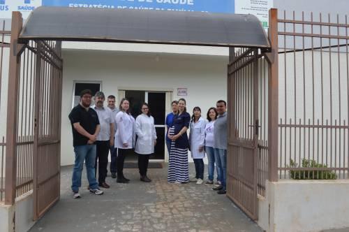 Unidade de Saúde do Bairro Neves/Sta Fé voltou a realizar atendimentos.