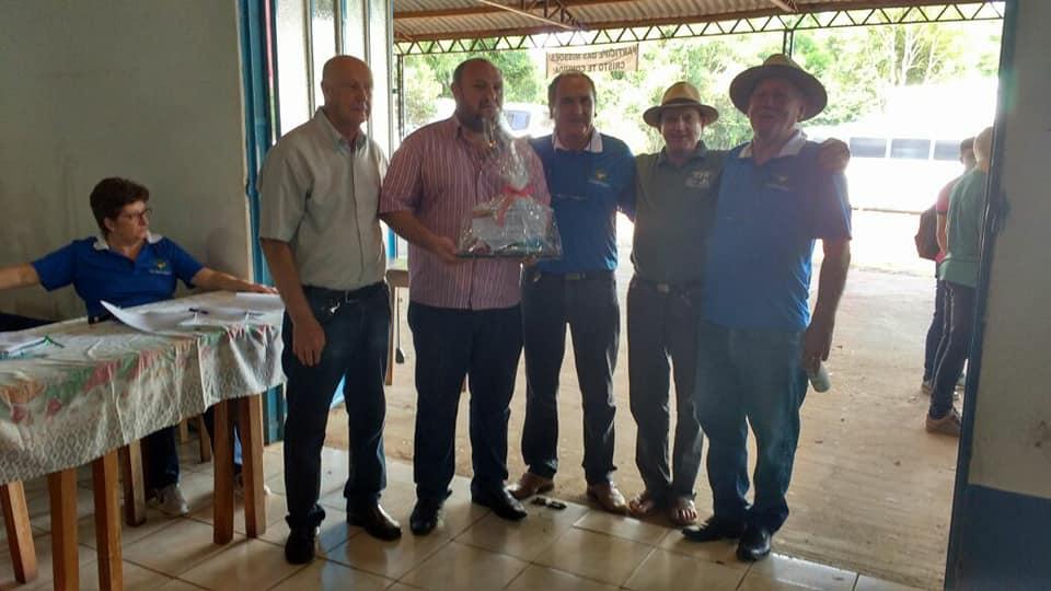 Prefeito Baroni participou do X Encontro das Casas Familiares Rurais do RS.