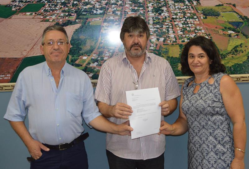 MDB entrega empenho de R$ 250 mil para o Centro de Convivência para Idosos