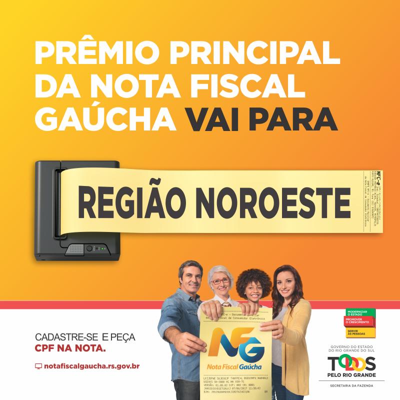 Nota Fiscal Gaúcha contempla consumidores de Catuípe