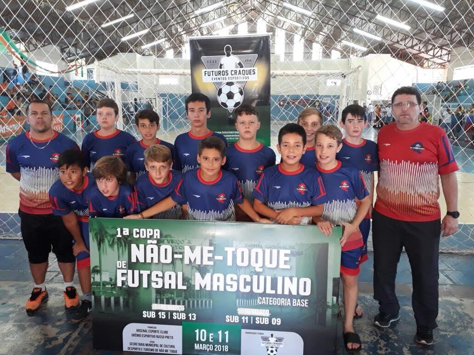 CMD/Catuípe é vice campeão da 1ª Copa Não Me Toque de Futsal Sub 13