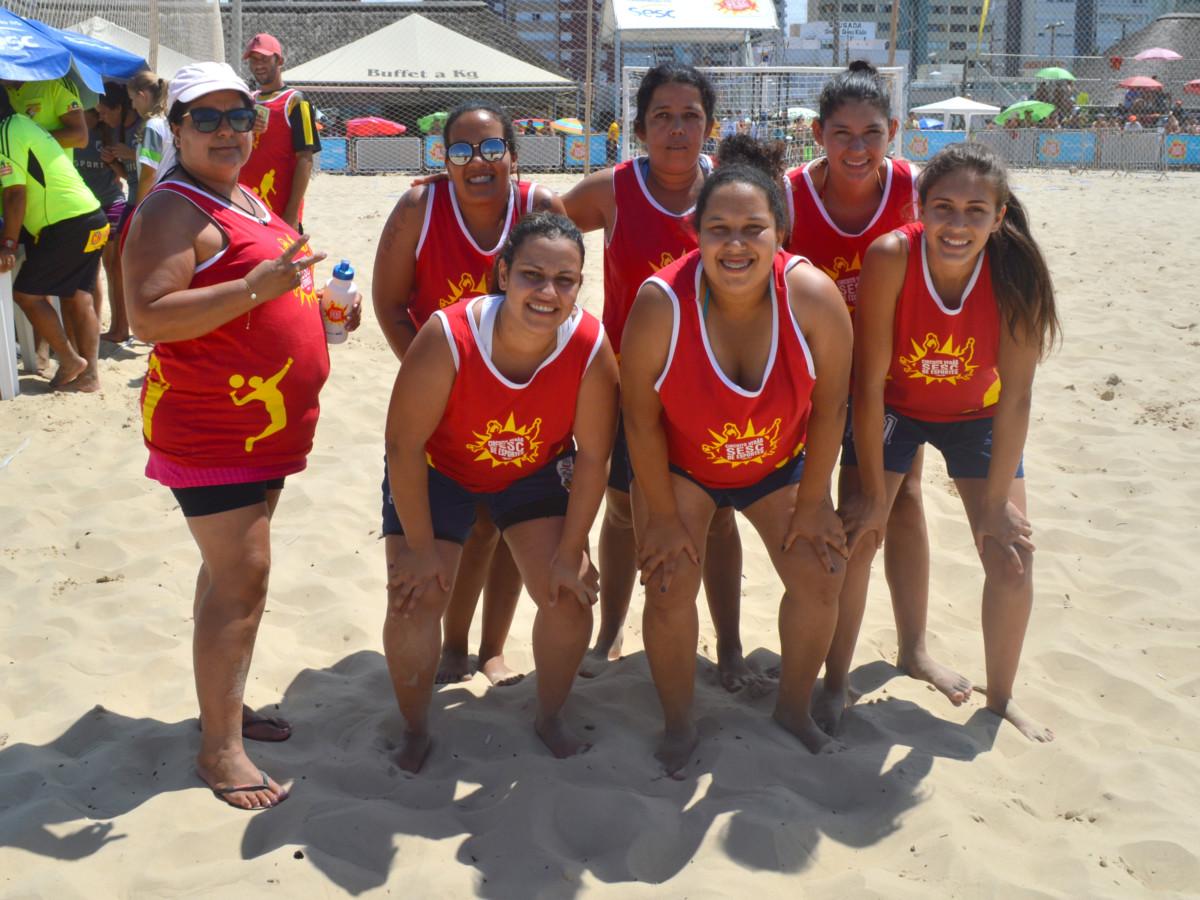 Equipes de Catuípe participaram do Circuito Verão Sesc em Torres