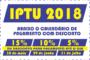 IPTU 2018 já está disponível