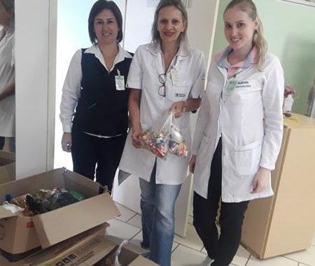 Escola Girassol realizou o Projeto Páscoa Solidária