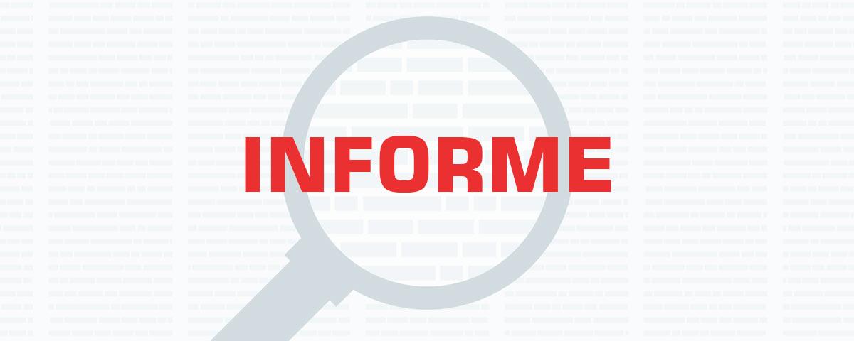 Informe Secretaria da Saúde