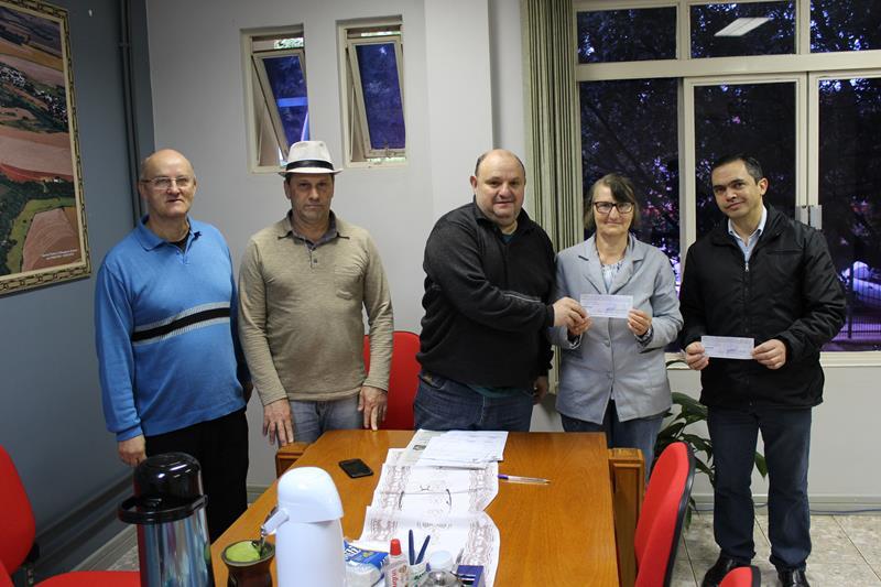 Prefeitura entrega premiação do Programa Nota Fiscal Gaúcha