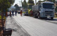 Mais quatro ruas serão asfaltadas
