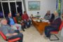 Prefeito recebe visita de moradores do Distrito de Santa Tereza
