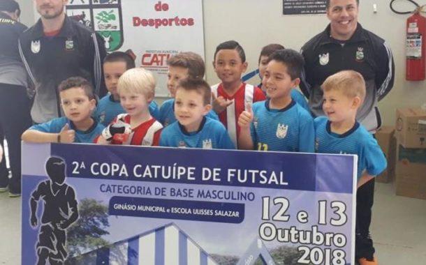 Conheça os campeões e vices da 2ª Copa Catuípe de Futsal