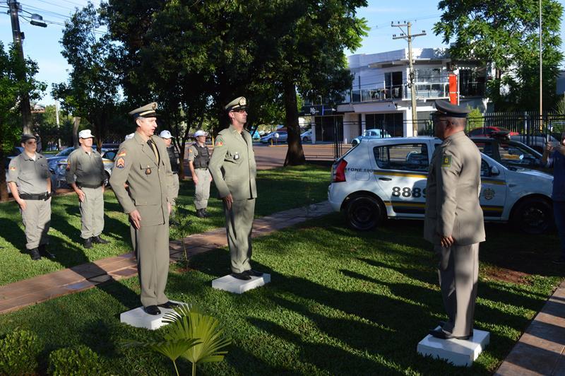 1° Tenente Marcos Heberle assume comando da BM de Catuípe
