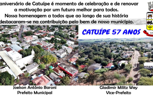 Homenagem Catuípe - 57 anos