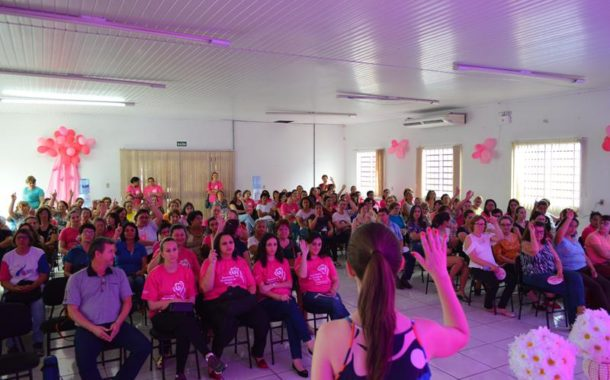Evento marca Outubro Rosa em Catuípe