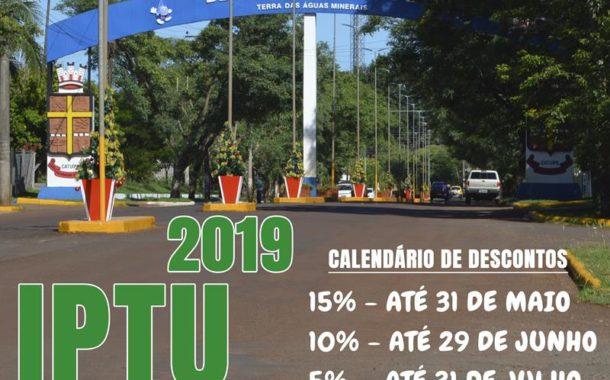 IPTU 2019 já está disponível para consulta e pagamento