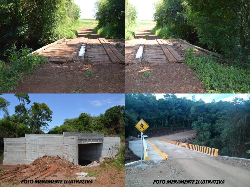 CONSTRUÇÃO DE DUAS NOVAS PONTES VÃO BENEFICIAR MORADORES NO INTERIOR DE CATUÍPE