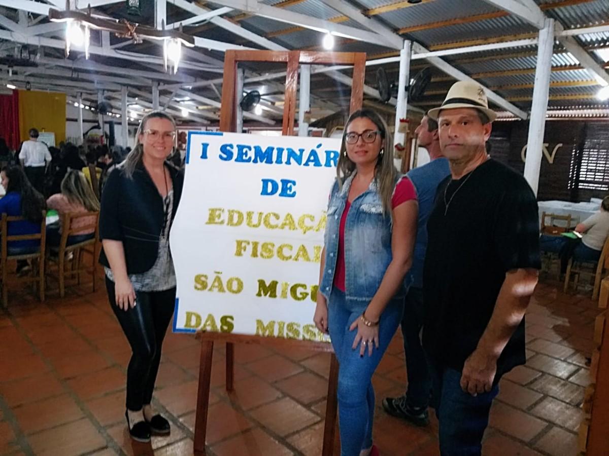 SERVIDORES MUNICIPAIS PARTICIPAM DO 1º SEMINÁRIO REGIONAL DE EDUCAÇÃO FISCAL