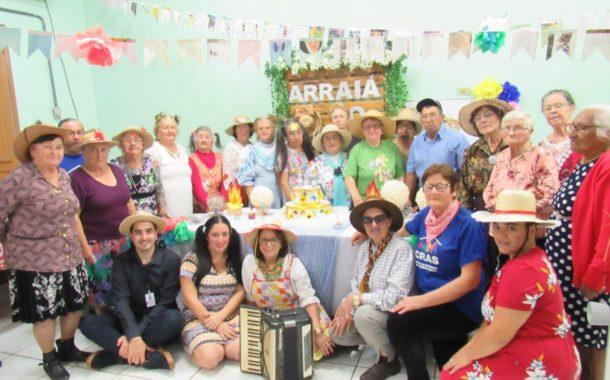 GRUPOS DO CRAS PARTICIPAM DE FESTA JUNINA