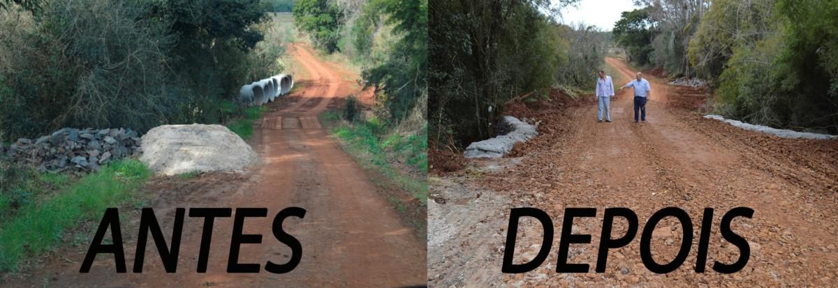 FINALIZADO A CONSTRUÇÃO DE DOIS BUEIROS NO DISTRITO DE COLÔNIA DAS ALMAS