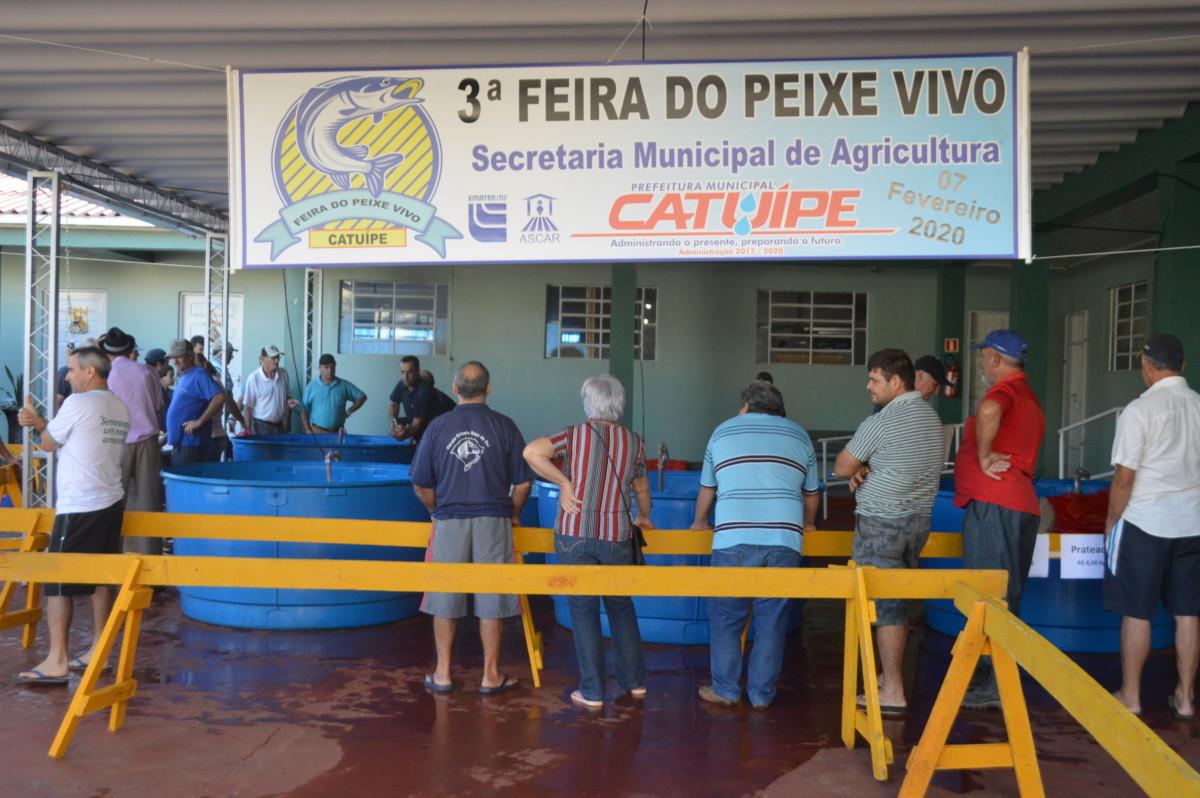3ª Feira Do Peixe Vivo Marca Recorde Em Comercialização