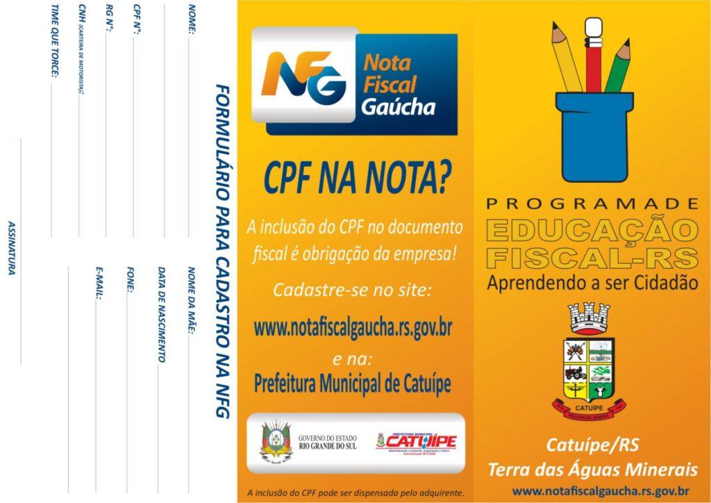 Programa Nota Fiscal Gaúcha