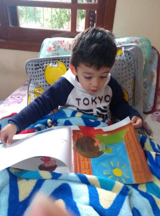 ESCOLA MUNICIPAL DE EDUCAÇÃO INFANTIL CRIANÇA FELIZ CONTAÇÃO DE HISTÓRIAS – TEMPO DE SE REINVENTAR