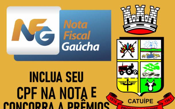 CATUÍPE É DESTAQUE NO RIO GRANDE DO SUL EM 1º LUGAR NO PROGRAMA EDUCAÇÃO FISCAL E NOTA FISCAL GAÚCHA